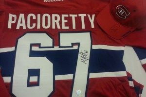 Win Autographed Raffle Prizes, Help Canadiens Children's Foundation