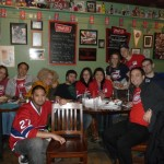 Habs Fans in Toronto Celebrate Canadiens Win!