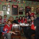Habs Fans in Toronto Celebrate Canadiens Win!