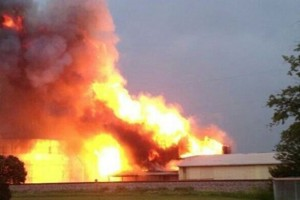 Fertilizer Plant Explosion Caught by Amateur Videographer [VIDEO]