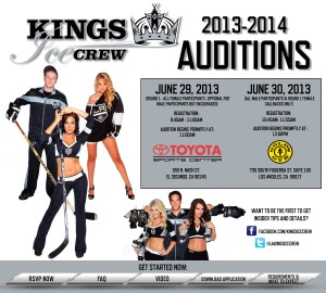 LA Kings auditions