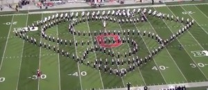 The Ohio State University marching band (Source: Youtube)