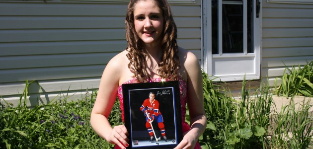 Habs360 Contest: Jean Beliveau Autographed Photo Winner