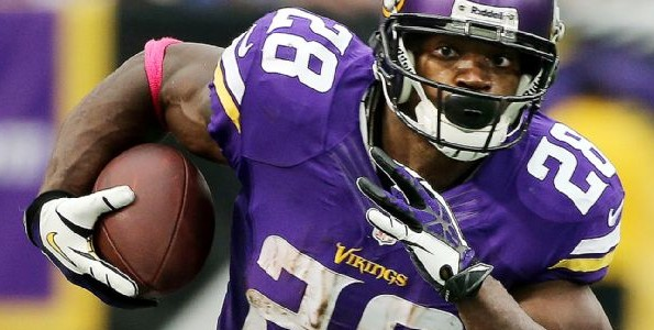 NFL's  Adrian Peterson is Unbreakable