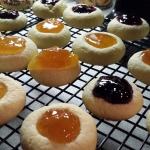 12 Days of Christmas Treats: Classic Thumbprint Cookies